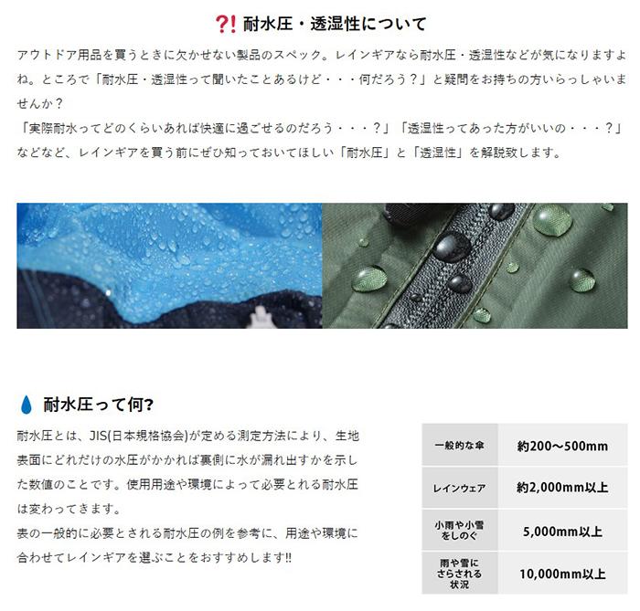 日本KIU|美好假期 空氣感雨衣64124