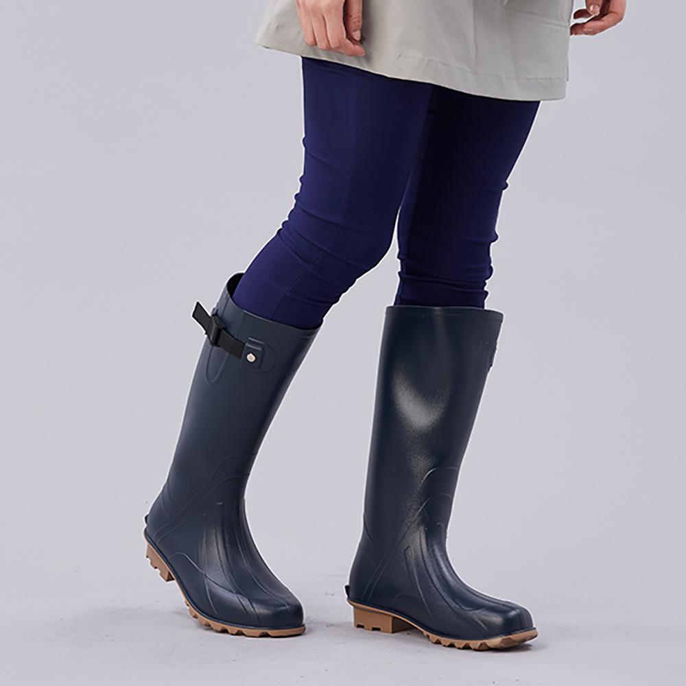 KiU  修飾腿型雨鞋- 男女適用  海軍藍