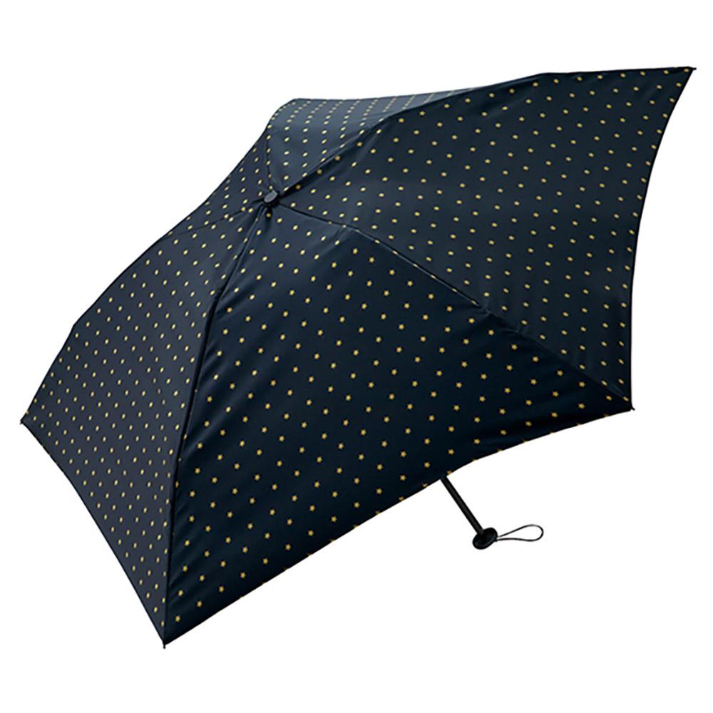 KiU|空氣感90g摺疊抗UV晴雨傘  點點星