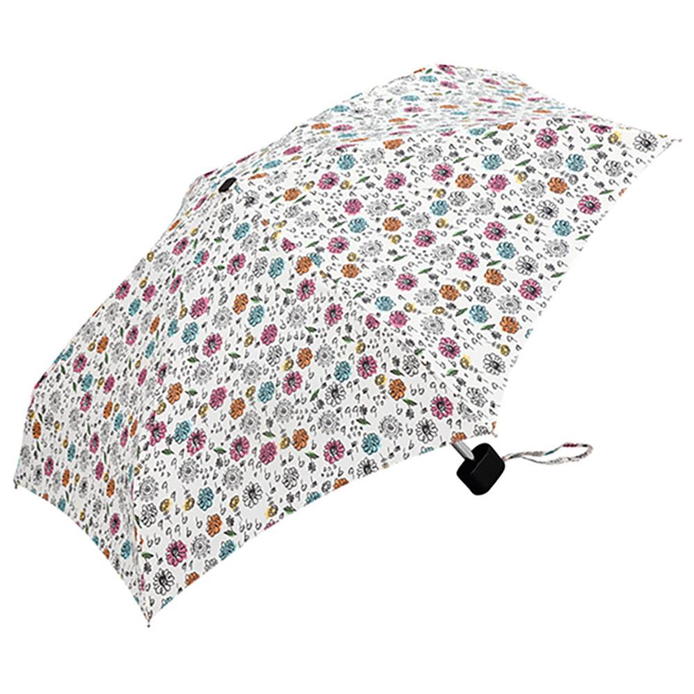 KiU|輕巧摺疊抗UV晴雨傘  花雨