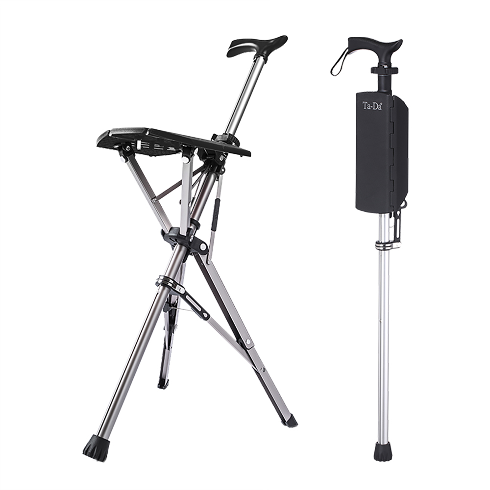 Ta-Da|泰達自動手杖椅(黑色)
