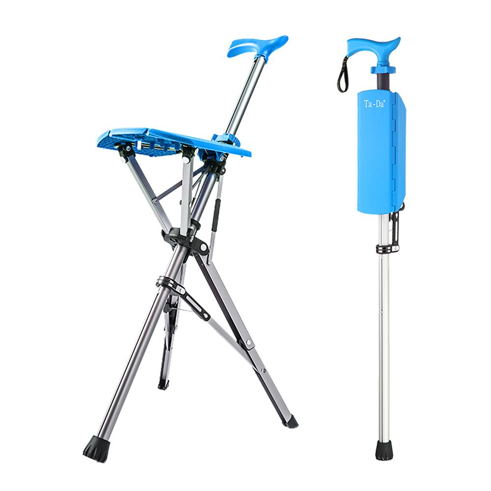 Ta-Da 泰達自動手杖椅(天空藍)
