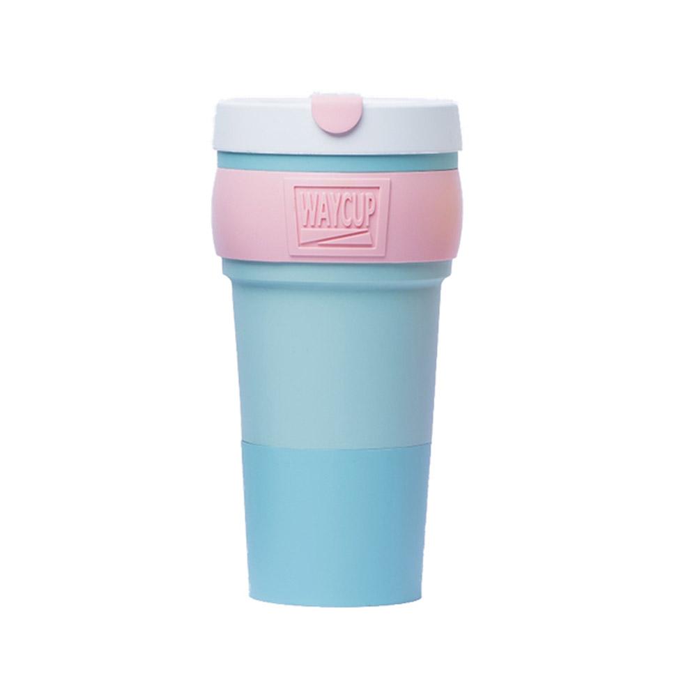 【預購】WAYCUP 威客杯│環保伸縮杯 (水藍)