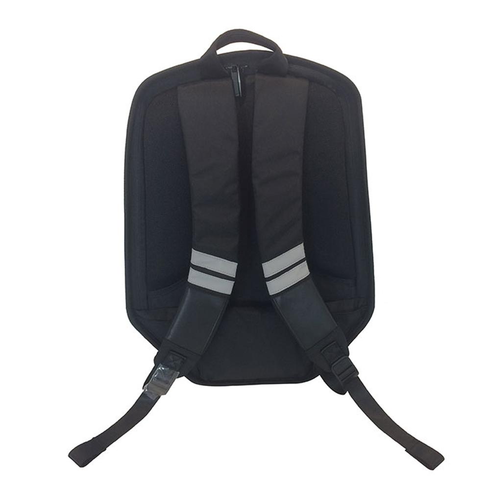 SHIELD|科技時尚 搖滾音響防盜後背包-酷冷灰