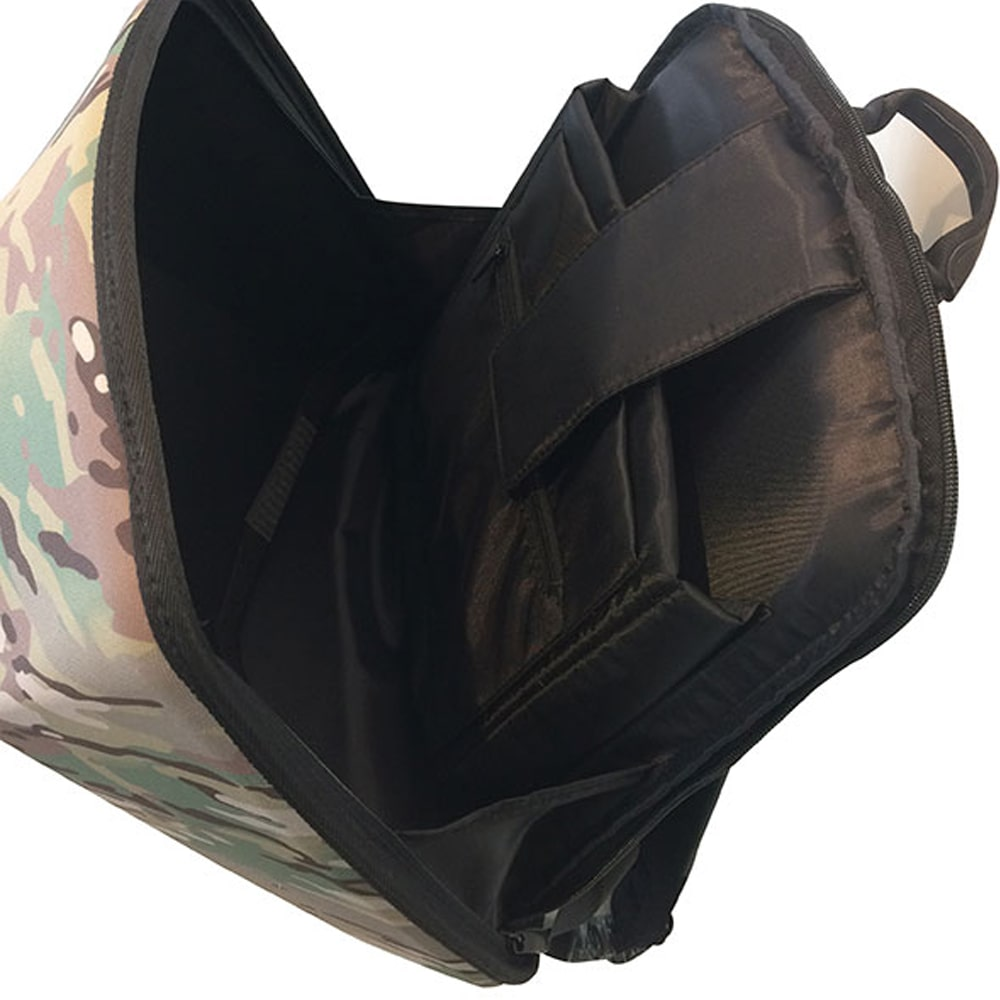 SHIELD|科技時尚 搖滾音響防盜後背包-叢林迷彩