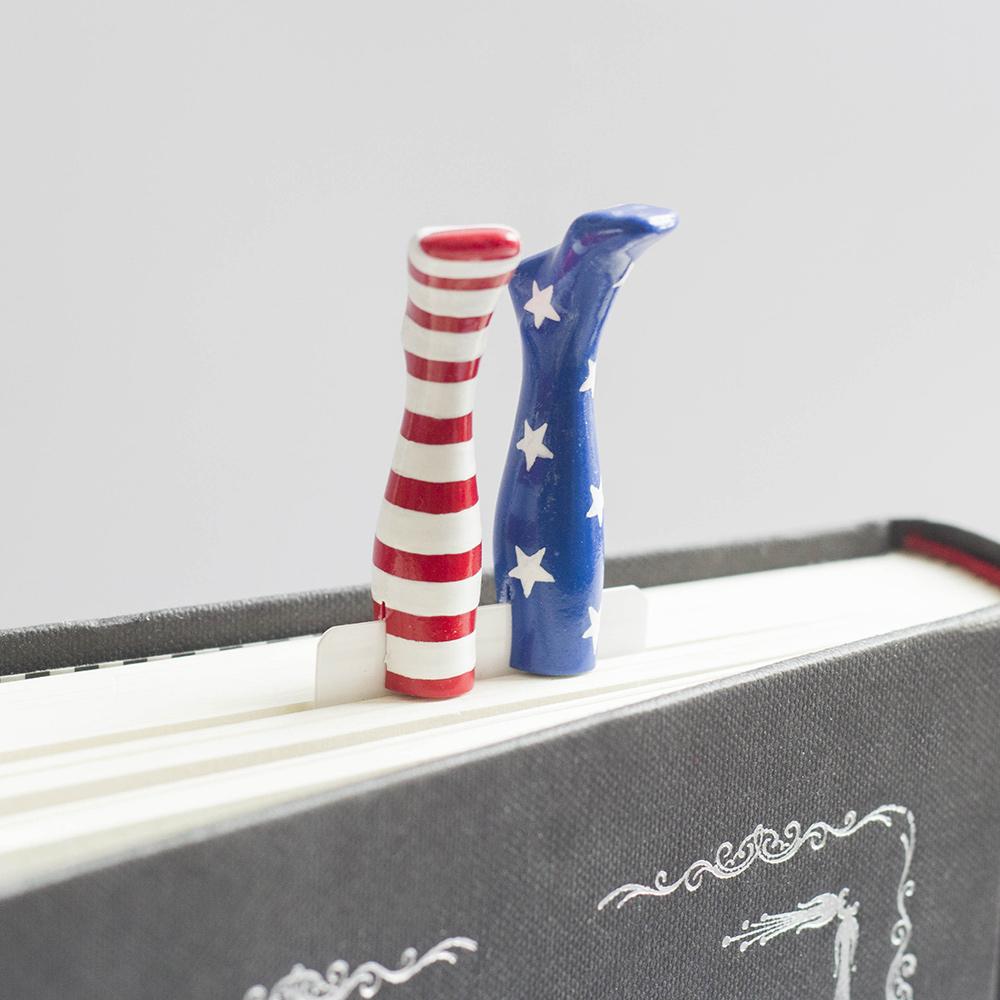 烏克蘭myBookmark|美國國慶襪的書籤