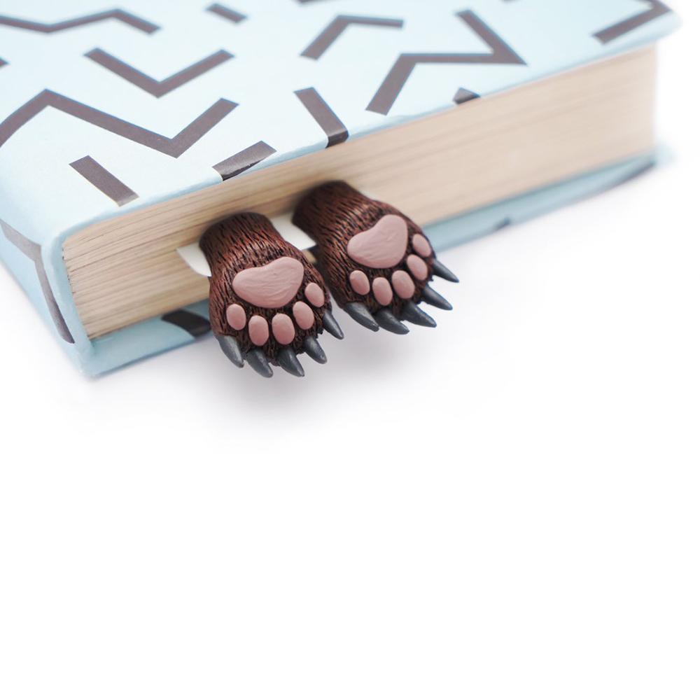 烏克蘭myBookmark 森林熊爪書籤