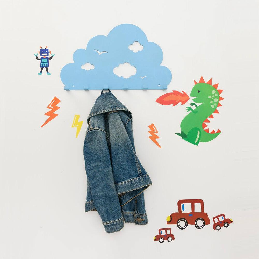 MyTolek童樂可|Wall-Art 孩子的。創意壁飾-頑皮雲朵