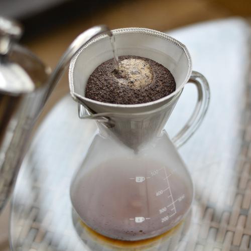 CUG 咖啡壺組(不鏽鋼濾紙+耐熱玻璃壺)