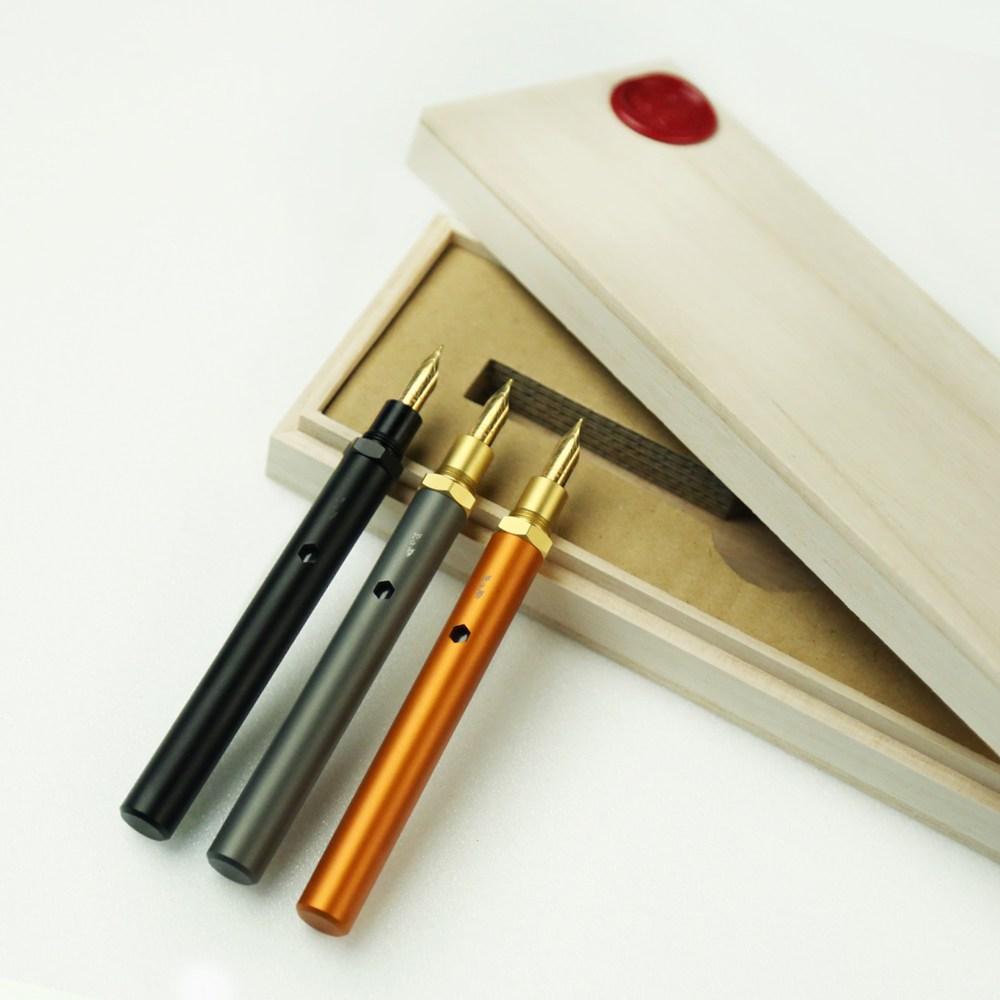 森作所|森系列鋼筆一式(黑色)