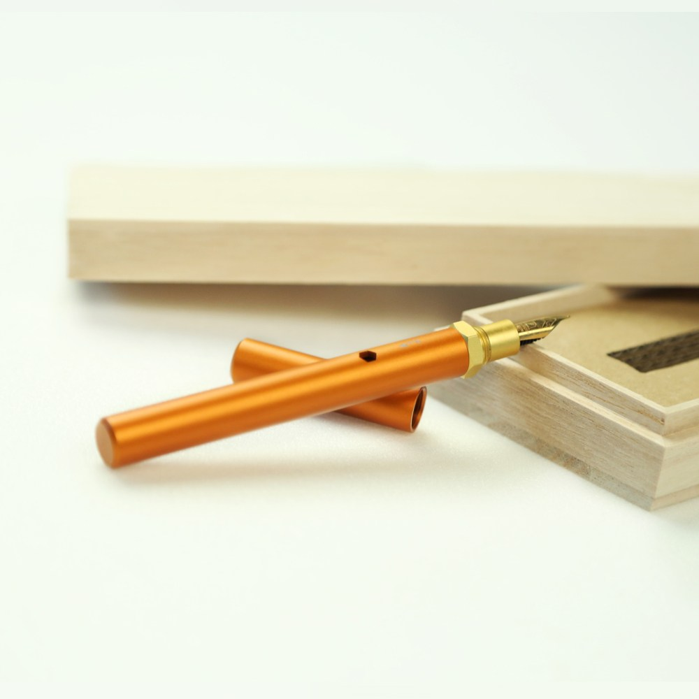 森作所|森系列鋼筆一式(橘色)