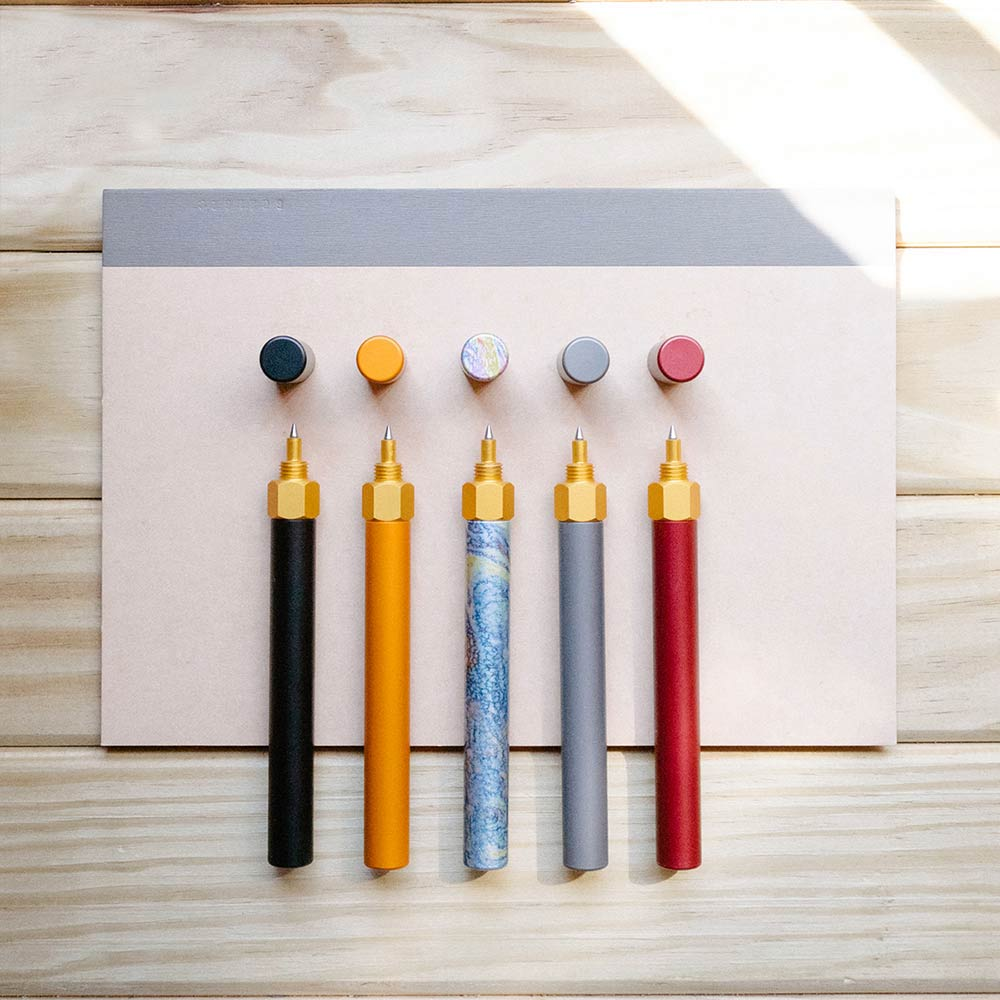 森作所|森系列鋼珠筆(彩繪)