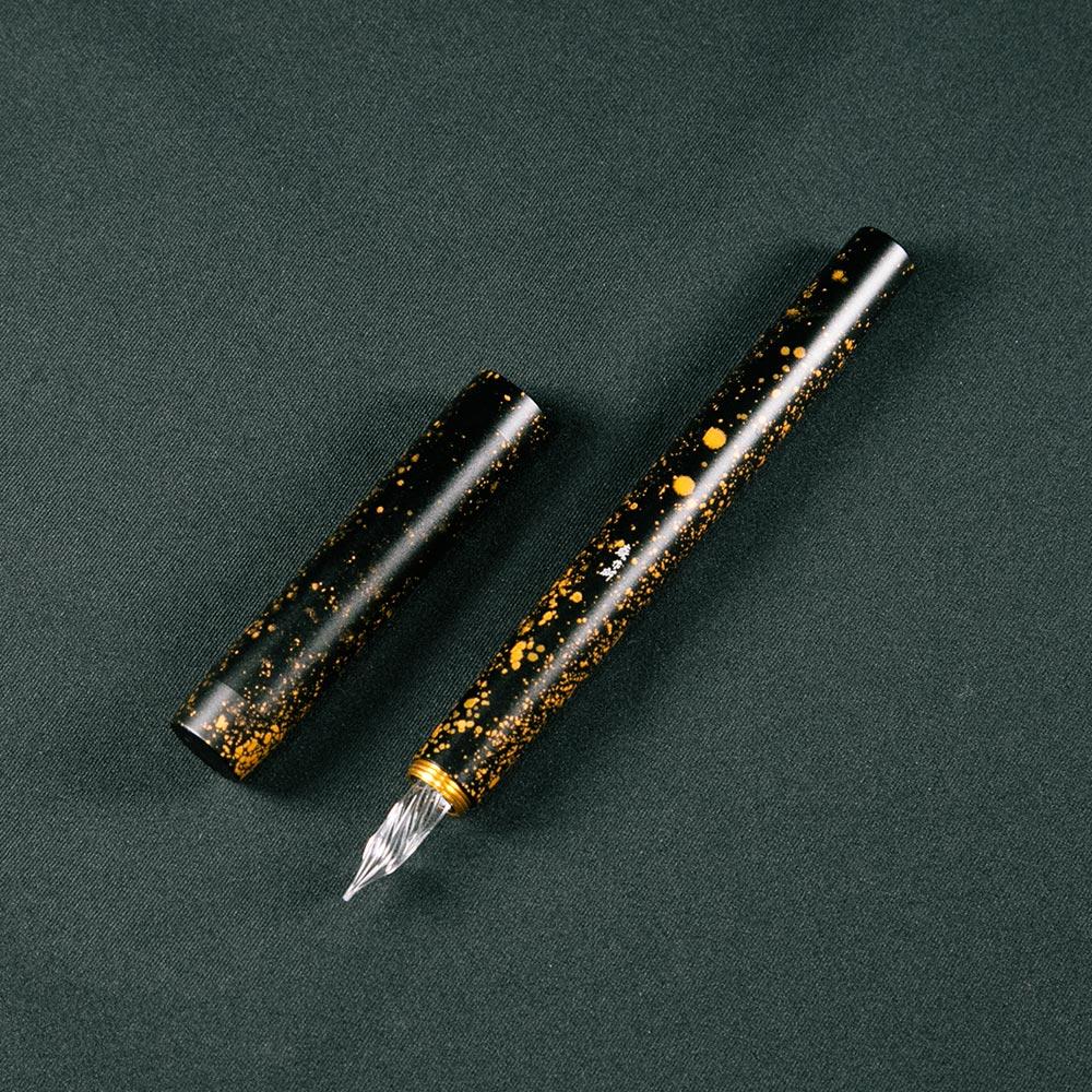 森作所|零式玻璃尖鋼筆星辰系列(黑星辰)