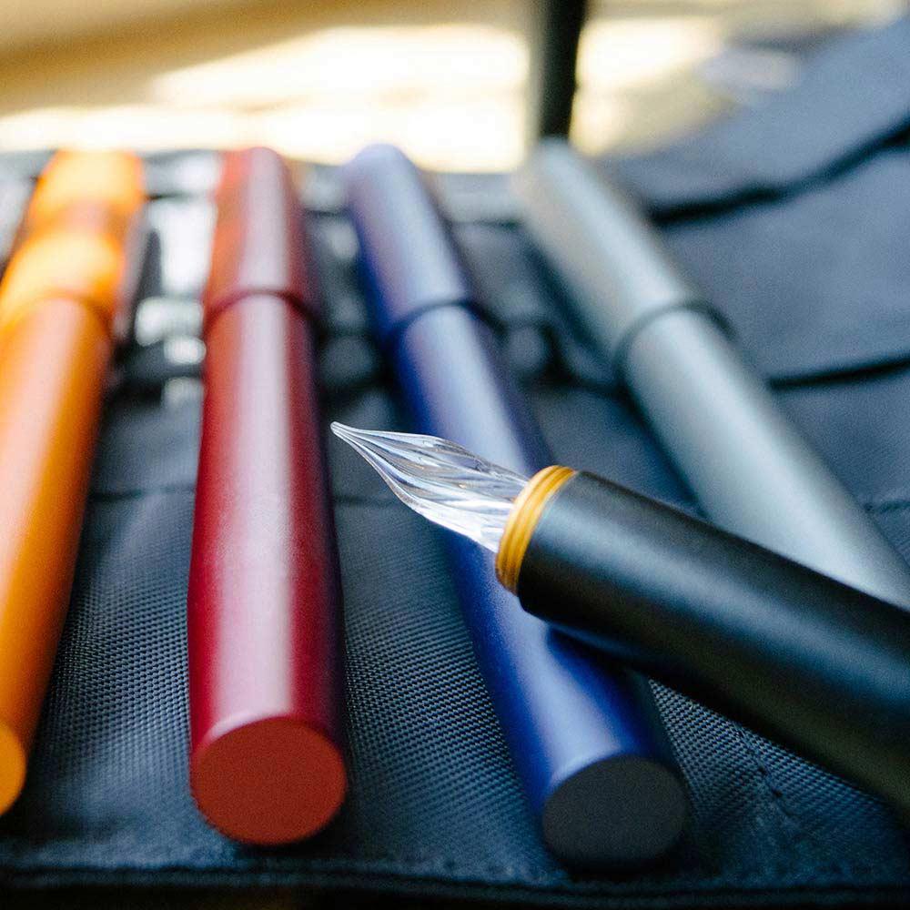 森作所|零式玻璃尖鋼筆(紅色)