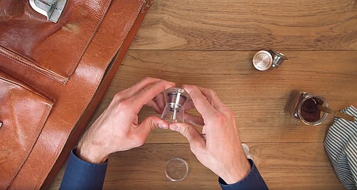 義大利 WAYCAP 不鏽鋼環保咖啡膠囊容器組(2入)-Complete Kit
