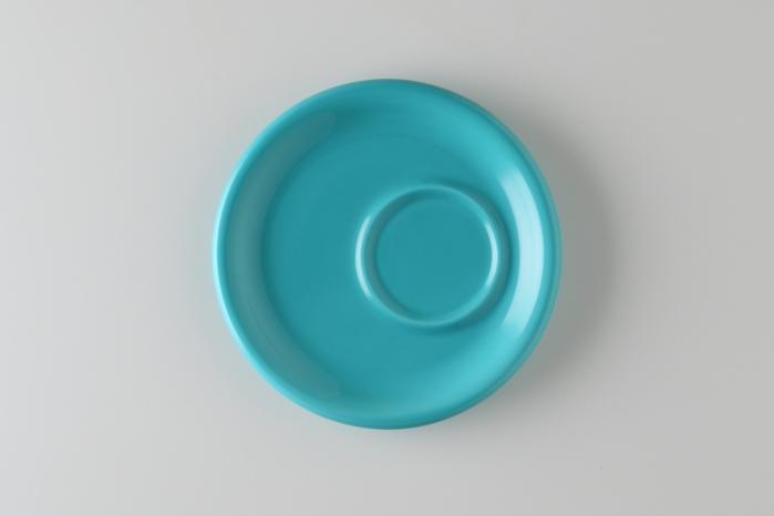 日本Origami|摺紙咖啡陶瓷托盤碟 卡布/拿鐵杯兼用(4色)