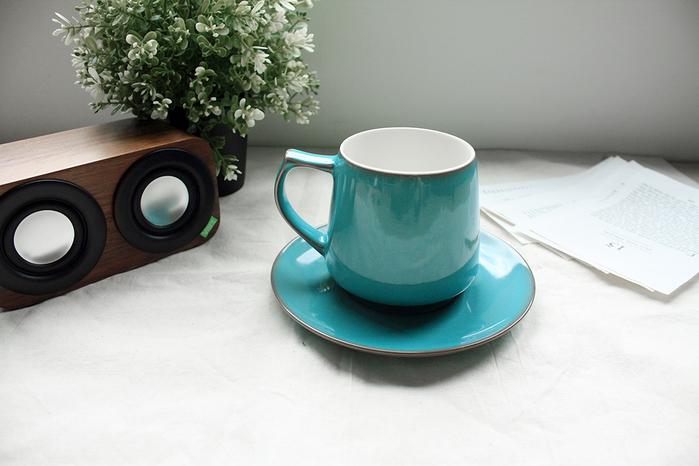 (複製)日本ORIGAMI|Aroma 摺紙咖啡馬克杯盤組(復古-雪松紅)