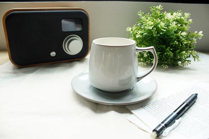 (複製)日本ORIGAMI|Aroma 摺紙咖啡馬克杯盤組(復古-濱河藍)