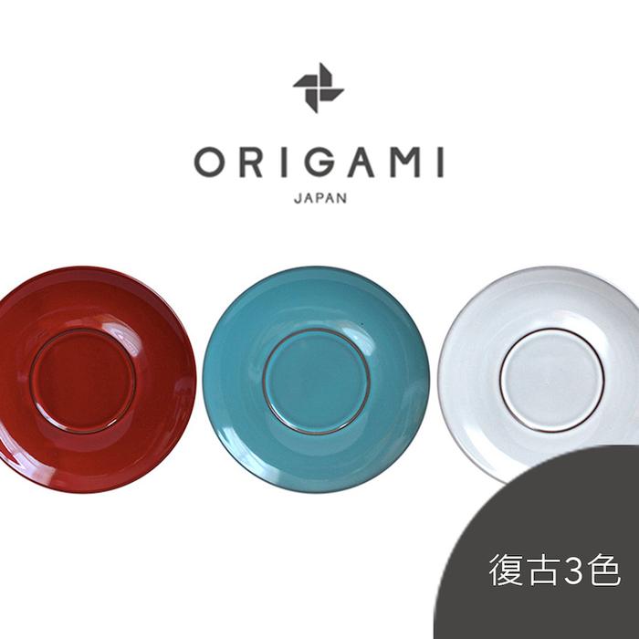 日本ORIGAMI 摺紙咖啡 Barrel Aroma 馬克杯盤 (復古3色)
