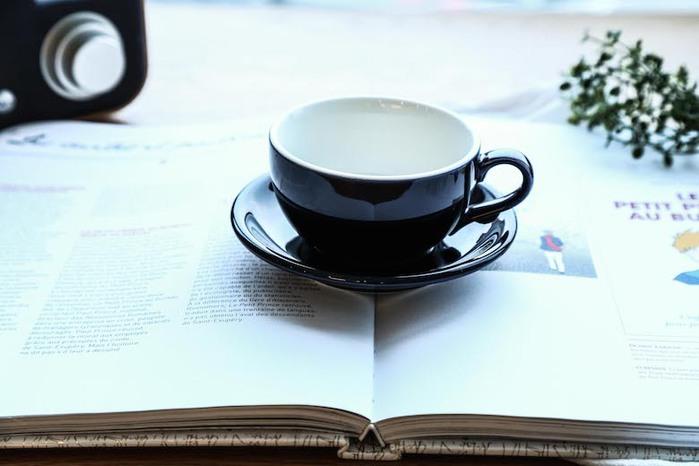 日本 ORIGAMI   摺紙咖啡陶瓷 拿鐵碗盤 250ml
