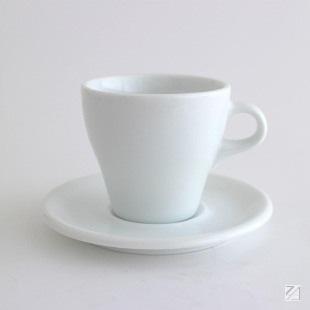 日本ORIGAMI|摺紙咖啡陶瓷杯組 拿鐵杯 250ml (純白色)