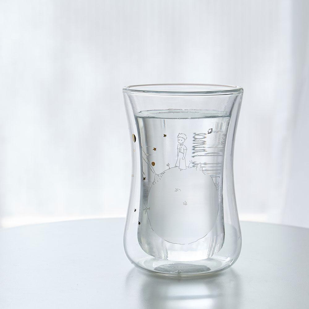 想望咖啡|想望星球-小王子大迷布雙層玻璃杯