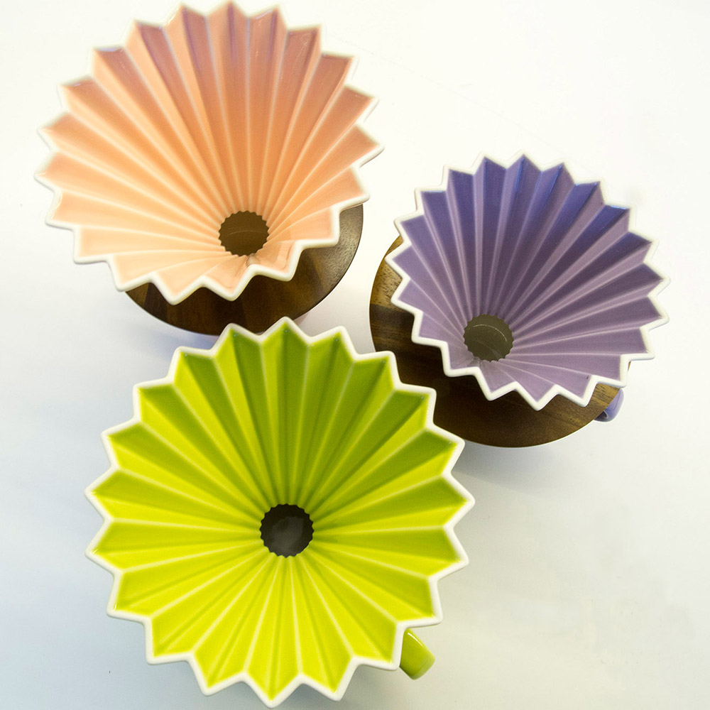日本 ORIGAMI|摺紙咖啡陶瓷濾杯組S 第二代 (11色)
