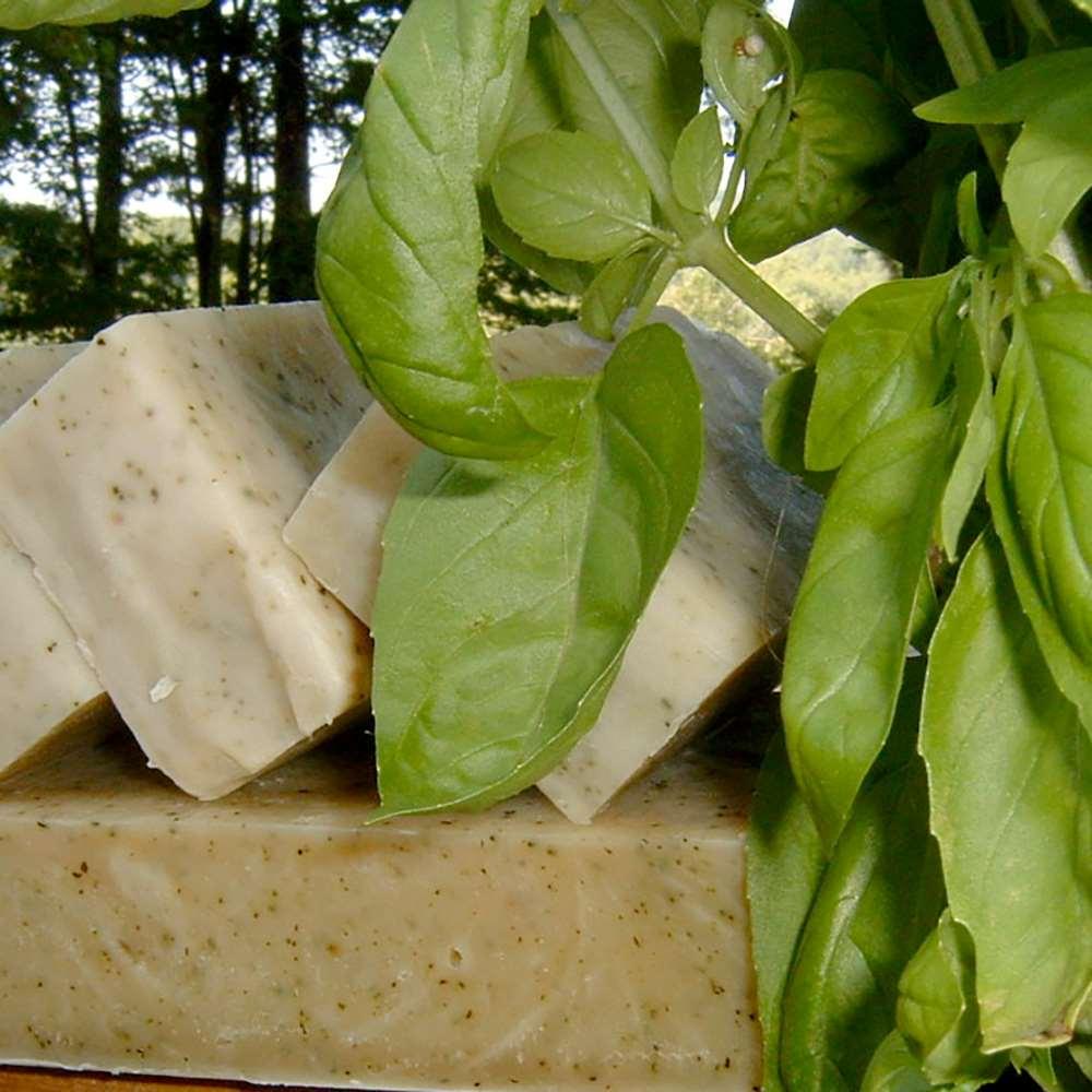 美國Chagrin Valley 天然甜羅勒有機大麥草植物手工皂 5.8 OZ