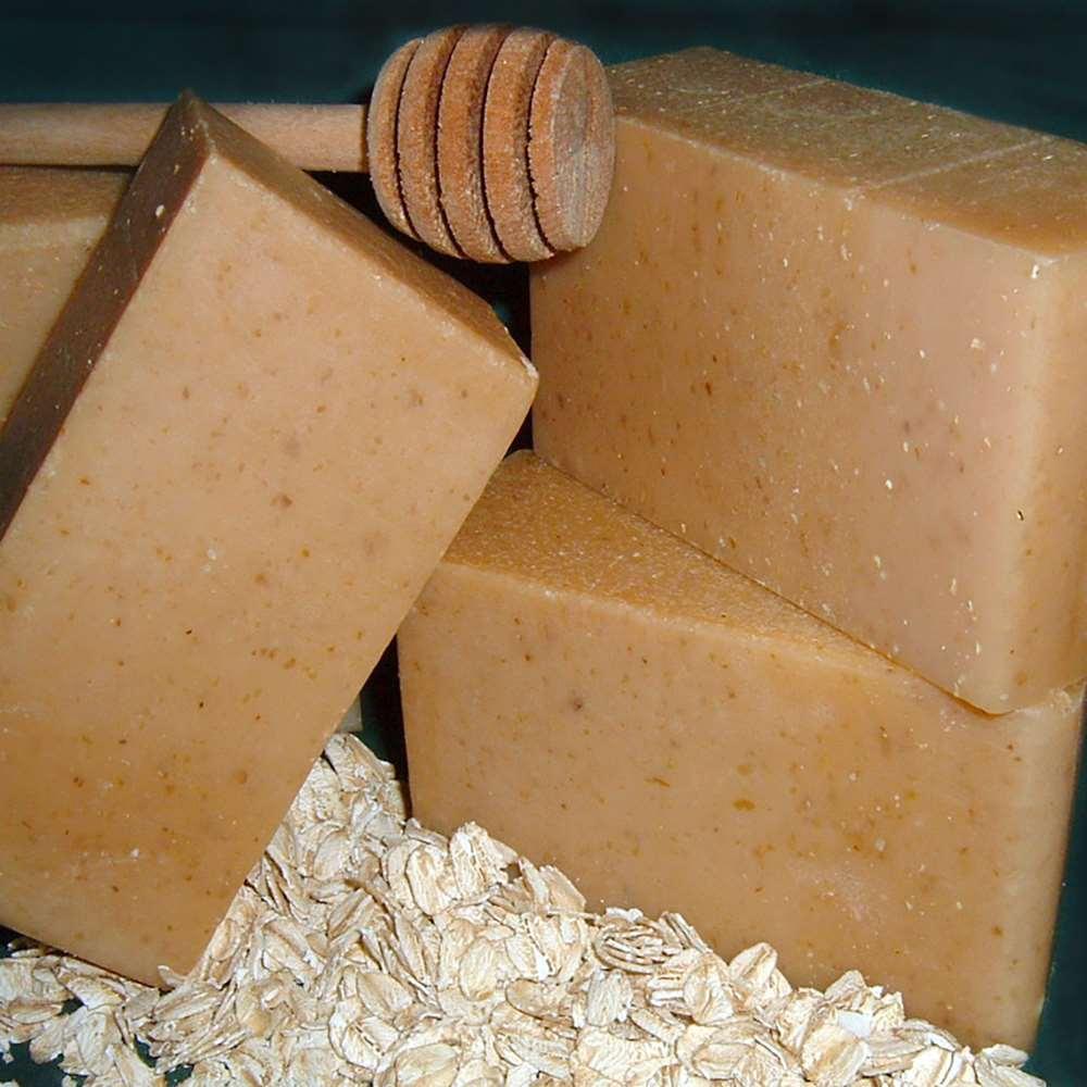 美國Chagrin Valley|有機蜂蜜山羊奶燕麥片手工皂 5.8 OZ