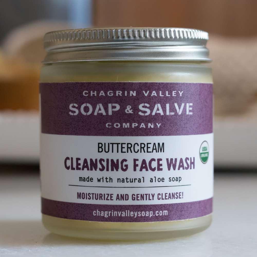 美國Chagrin Valley|有機初榨棕櫚蘆薈溫和洗面霜 4 OZ