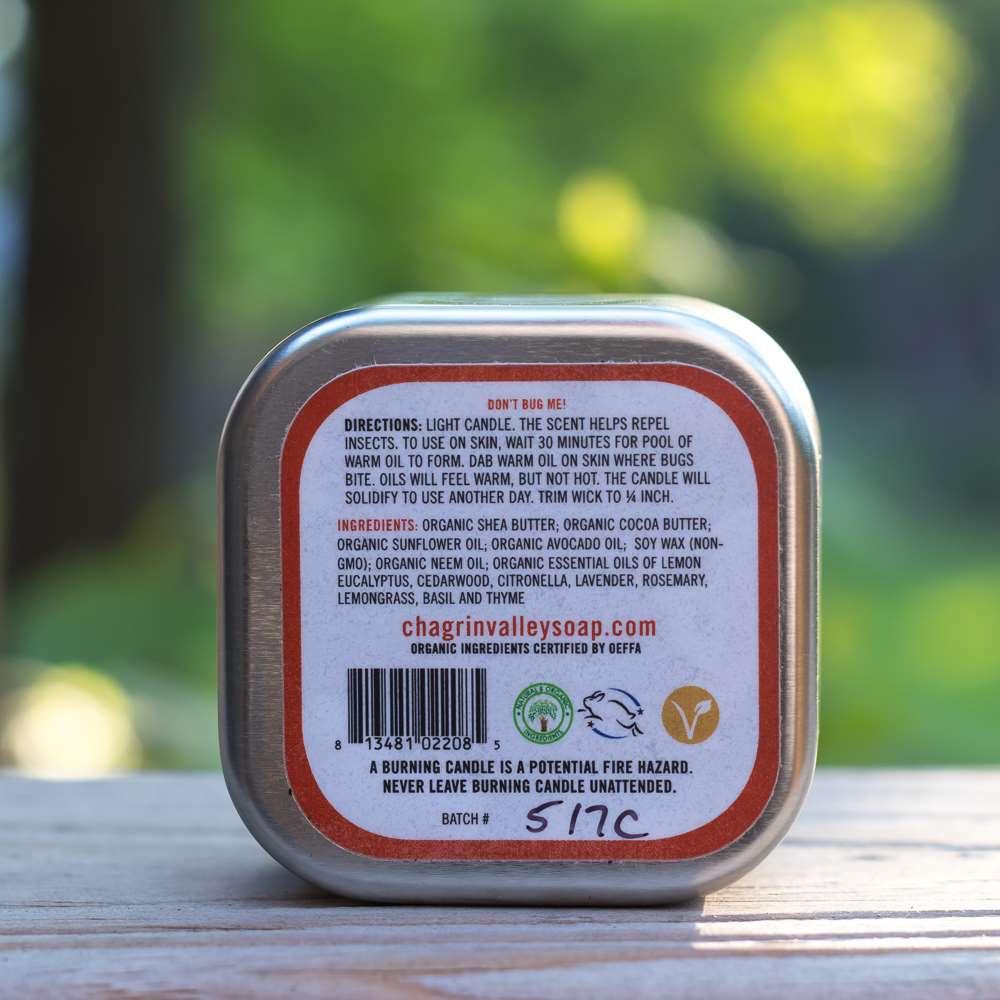 美國Chagrin Valley|天然有機草本防蚊香氛蠟燭 3.5 OZ