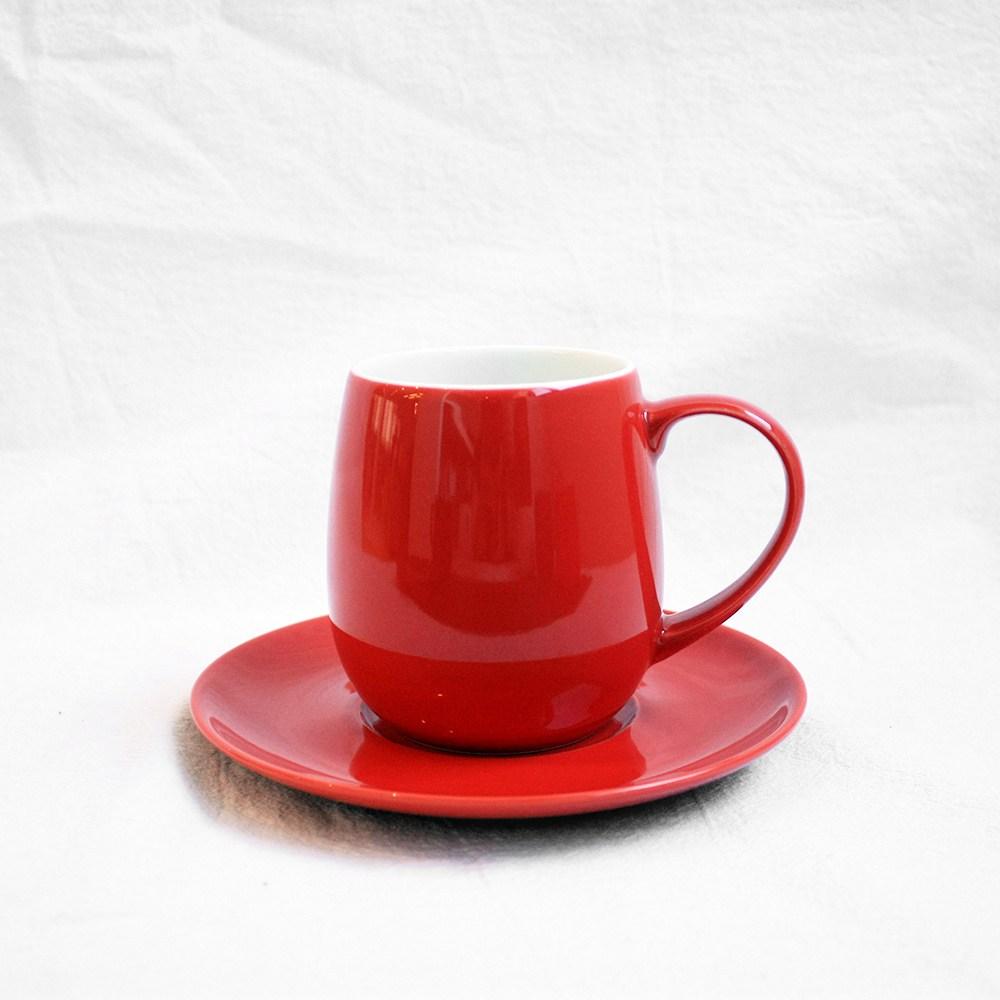 日本ORIGAMI|Barrel Aroma 摺紙咖啡馬克杯盤組(純色-11色可選)