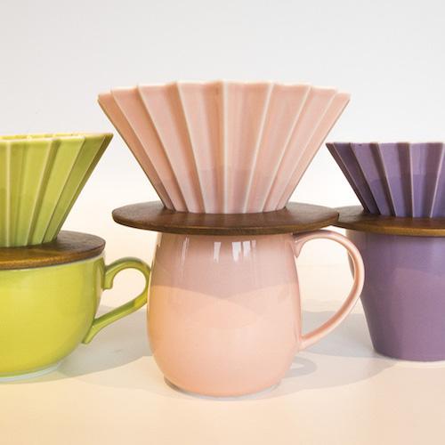日本ORIGAMI|Barrel Aroma 摺紙咖啡馬克杯(純色-11色可選)