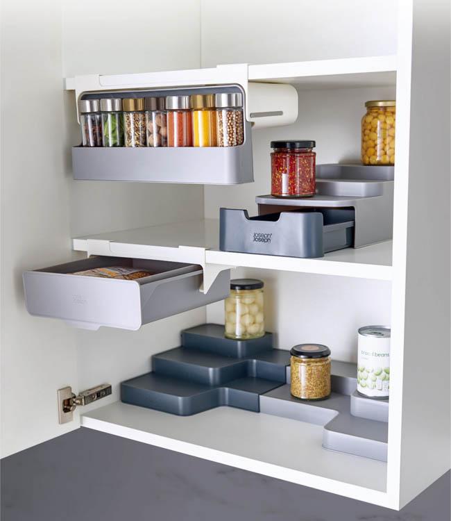 Joseph Joseph|英國創意餐廚 好收納分層式櫥櫃抽屜盒