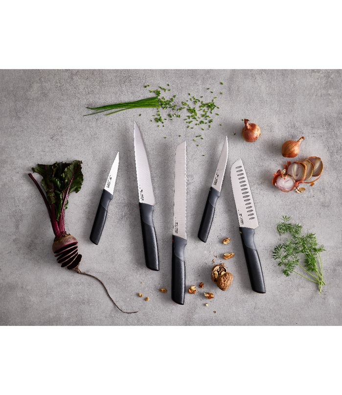 Joseph Joseph 英國創意餐廚 不沾桌不鏽鋼鋸齒短刀(4.5