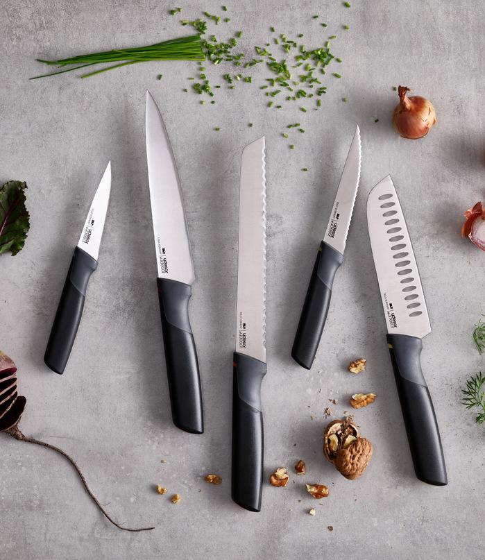 Joseph Joseph|英國創意餐廚 不沾桌不鏽鋼料理刀(5.5
