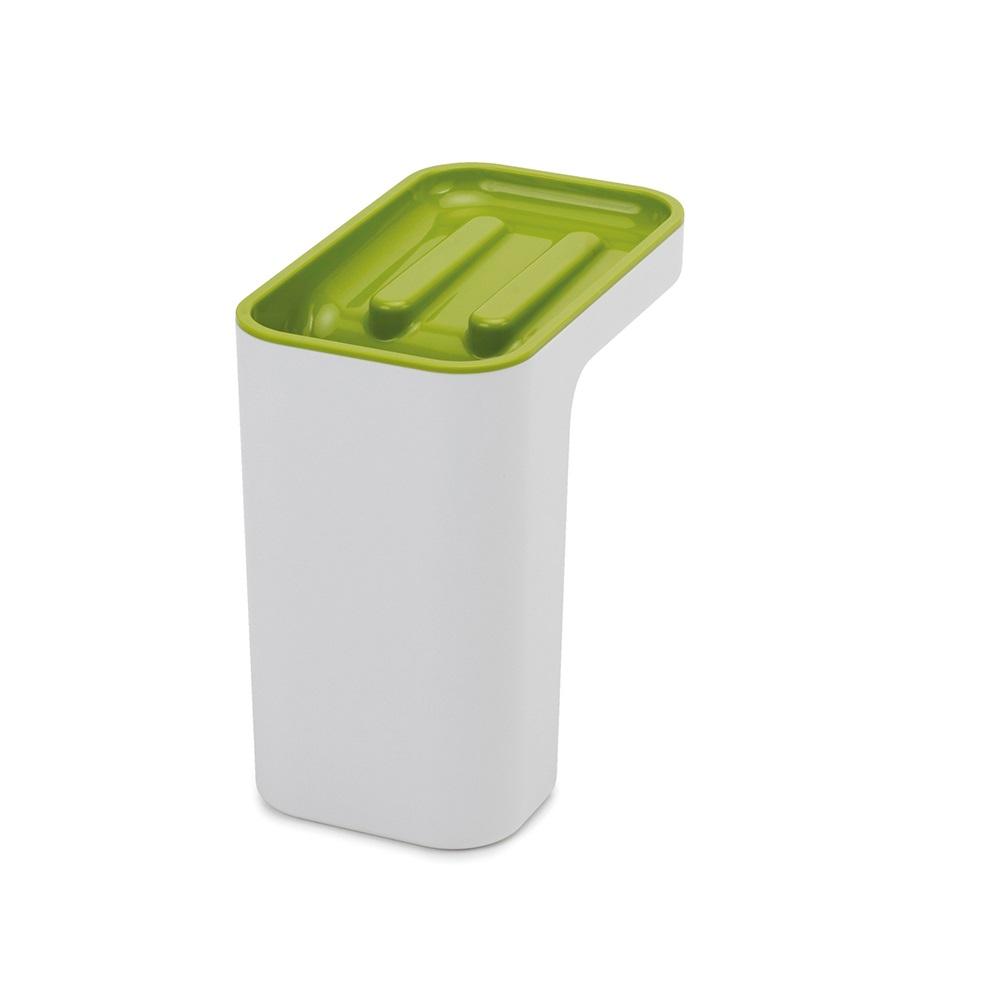 Joseph Joseph|英國創意餐廚 水槽清潔工具收納架(綠)