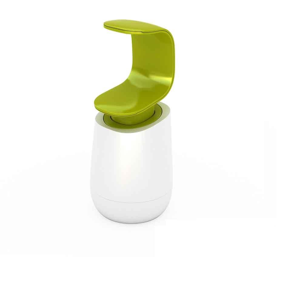 Joseph Joseph 英國創意餐廚 好順手擠皂瓶(白綠)