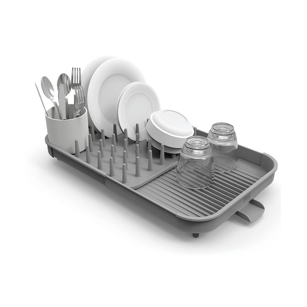 Joseph Joseph|英國創意餐廚 Duo 可延伸杯碗盤瀝水組
