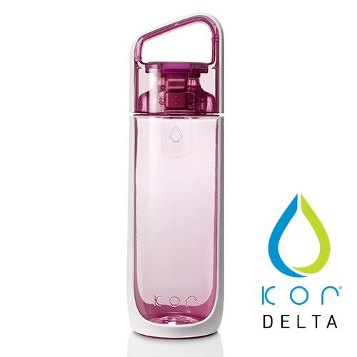 美國KORwater|KOR Delta 隨身水瓶-玫瑰粉/500ml