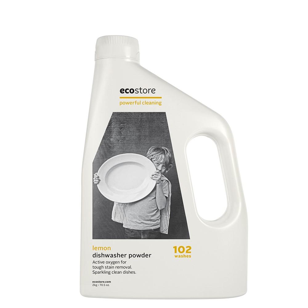 ecostore 環保洗碗粉-經典檸檬/2kg