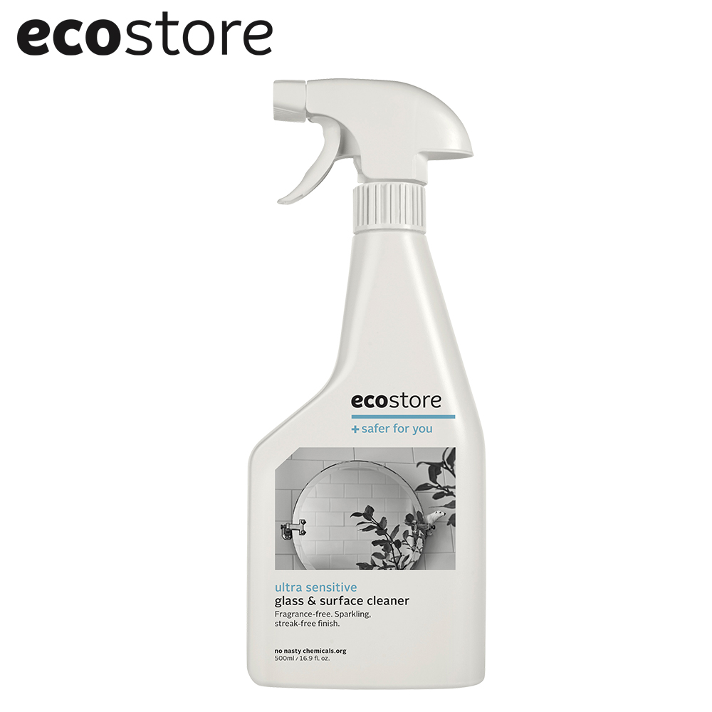 ecostore 環保玻璃清潔噴霧-純淨無香/500ml