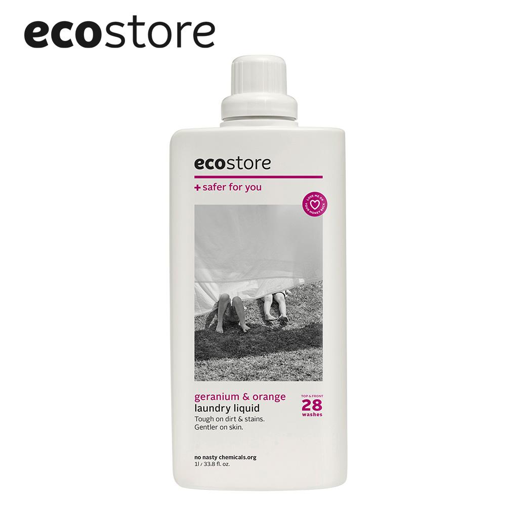ecostore|超濃縮環保洗衣精-柑橘天竺葵/1L