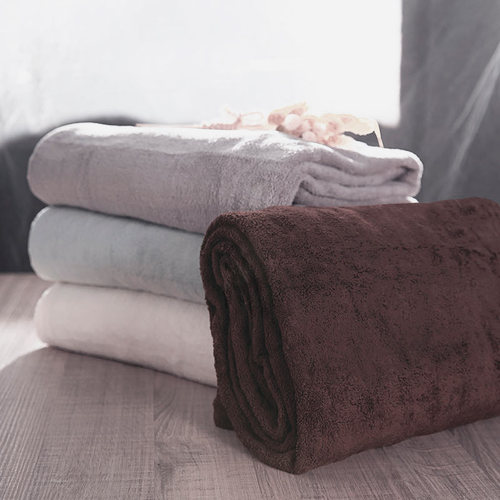 Microdry 舒適快乾浴巾-巧克力