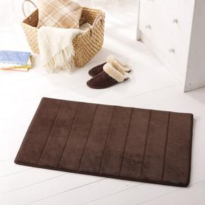 Microdry|舒適記憶綿浴墊-巧克力S