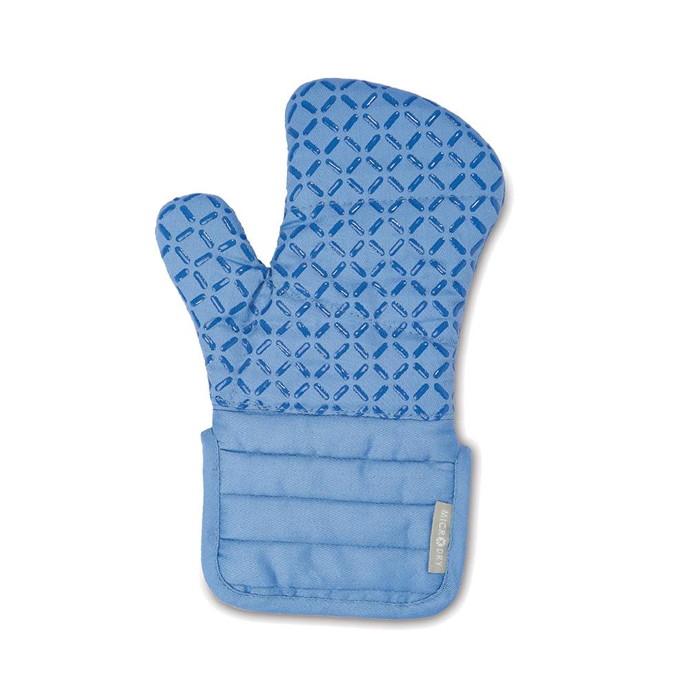 Microdry 舒適防滑隔熱手套S-車菊藍