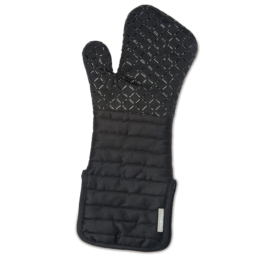 Microdry|舒適防滑隔熱手套L-黑珍珠