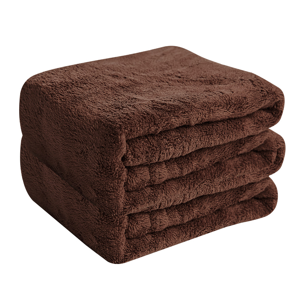 Microdry|舒適快乾毛巾-巧克力2入組