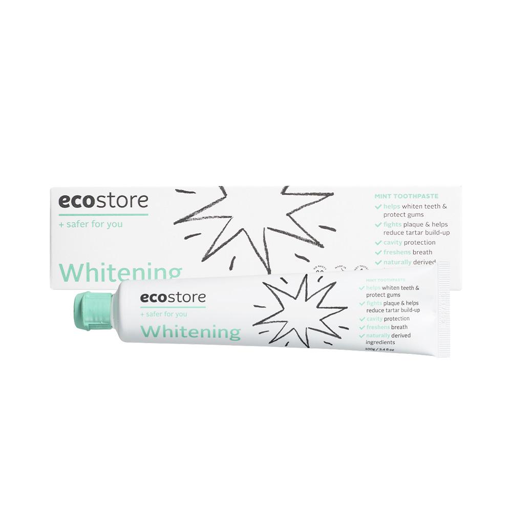 ecostore|純淨美白牙膏100g