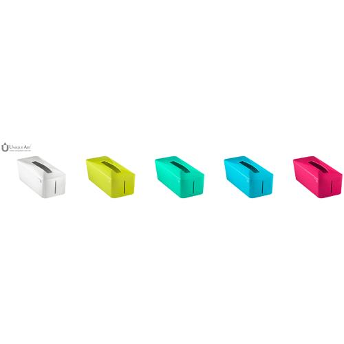 Unique Art|Tissue. Know自動彈升面紙盒  (萊姆黃)